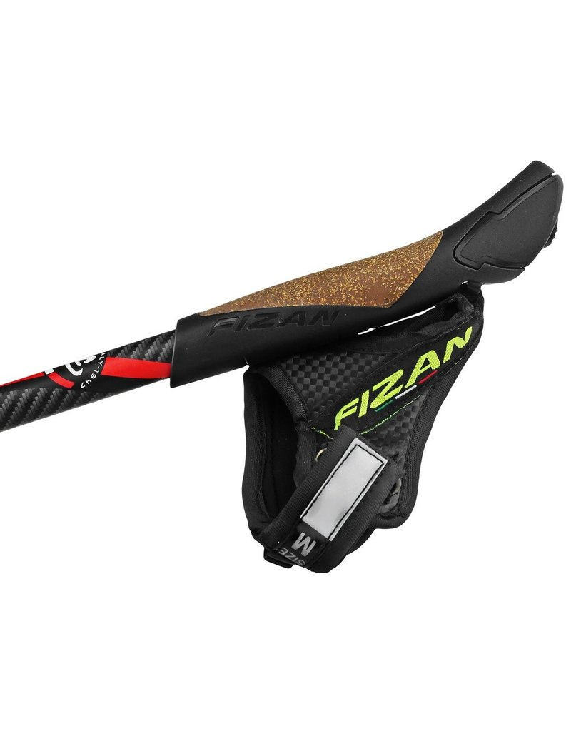 Fizan Nordic stok Performance carbon - red