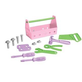 Green Toys Gereedschapsset | Roze