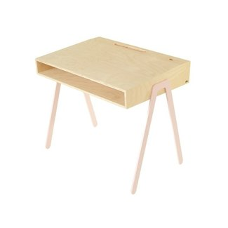 In2Wood Kinderbureau Desk Large | Pink