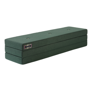 by KlipKlap Opvouwbaar Matras - KK 3 Fold | Deep Green w. Light Green
