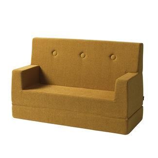 by KlipKlap Kinderbank - KK Kids Sofa | Mustard with Mustard