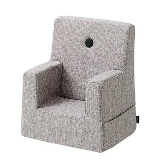 by KlipKlap Kinderstoel - KK Kids Chair   Multi Grey with Grey