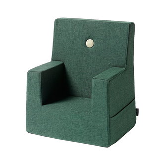 by KlipKlap Kinderstoel - KK Kids Chair   Deep Green with Light Green