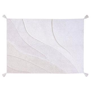 Lorena Canals Cotton Shades Wit   Vloerkleed 140 x 200 cm