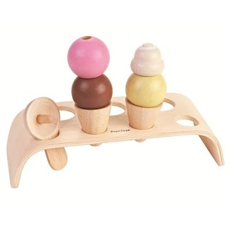 Plan Toys Houten Ice Cream Set