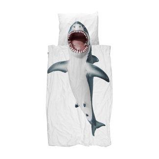 Snurk Dekbedovertrek Shark!! | 140 x 200 cm