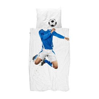 Snurk Dekbedovertrek Soccer Champ Blue | 140 x 200 cm