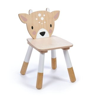 Tender Leaf Toys Houten Kinderstoel Hert | Forest Deer Chair