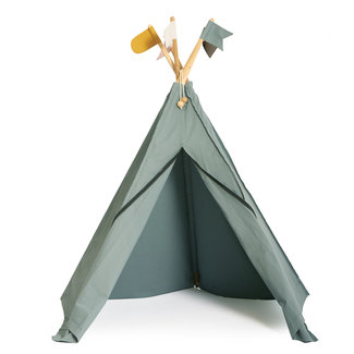 Roommate Hippie Tipi Speeltent Sea Grey