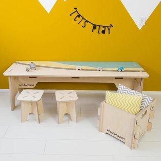 Woonlief Speeltafel | Print Strand