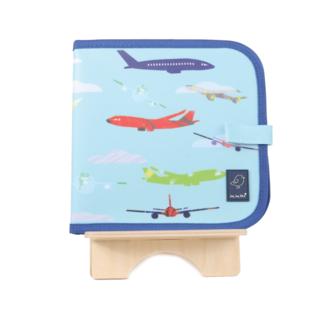 Jaq Jaq Bird Doodle It & Go Uitwisbaar Kleurboek | Aeroplane