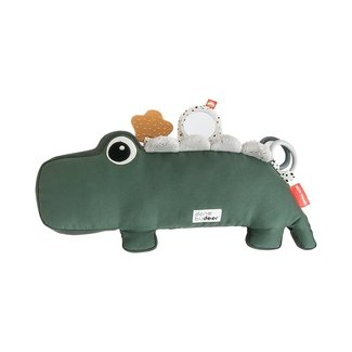 Done by Deer Tummy Time Activity Toy | Croco Green