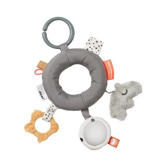 Done by Deer Activity Rattle Deer Friends | Grey