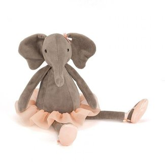 Jellycat Knuffel Dancing Darcey Elephant | Medium