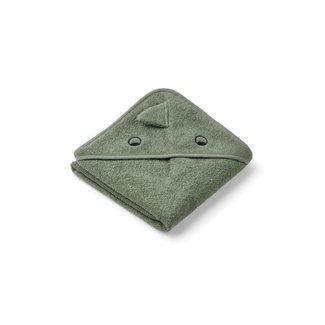 Liewood Handdoek met Capuchon | Dino Faune Green