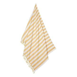 Liewood Mona Strandlaken | Stripe - Yellow Mellow / Creme
