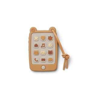 Liewood Siliconen Bijtring Telefoon | Thomas Mobile Phone