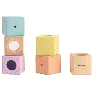 Plan Toys Zintuigelijke blokken | Sensory Blocks