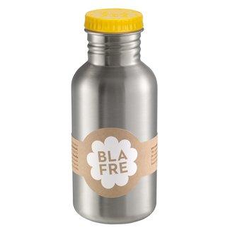 Blafre Stalen drinkfles 500ml | Geel