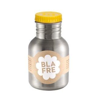 Blafre Stalen drinkfles 300ml | Geel