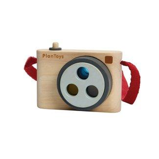 Plan Toys Fotocamera met kleurlens
