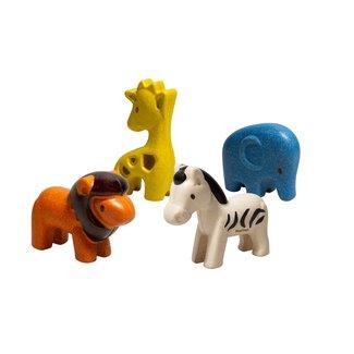 Plan Toys Wilde Dieren Set