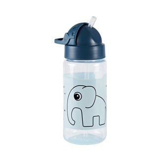 Done by Deer Drinkfles Straw bottle | Elphee Blue