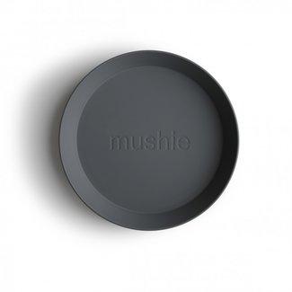 Mushie Borden Rond | Smoke (2 stuks)