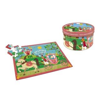 Scratch Europe Puzzel Prinsessenkoets