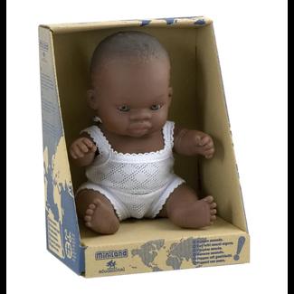 Miniland Babypop Afrikaanse jongen