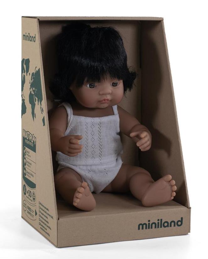 Babypop Latijns Amerikaans meisje met vanillegeur Miniland