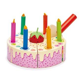 Tender Leaf Toys Regenboog Verjaardagstaart
