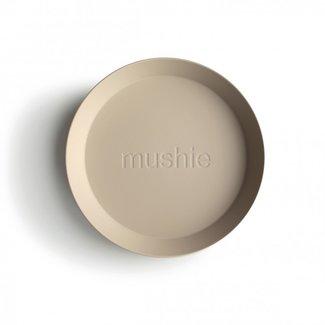 Mushie Borden Rond | Vanilla (2 stuks)
