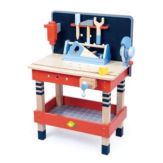 Tender Leaf Toys Werkbank met gereedschap