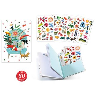 Djeco Notitieboek met Stickers | Sarah