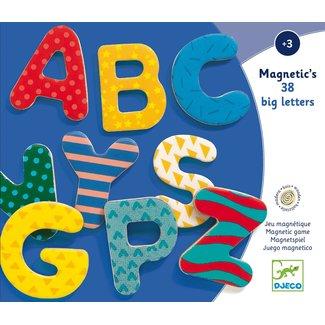 Djeco Magnetische Letters | 38 stuks