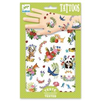 Djeco Tattoos Happy Spring