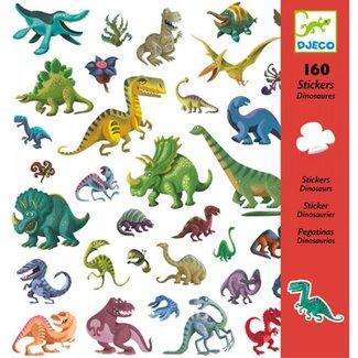 Djeco Stickers Dinosaurussen | 160 stuks