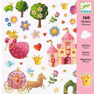 Djeco Stickers Prinses | 160 stuks