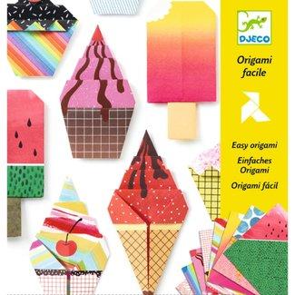 Djeco Eenvoudig Origami Knutselpakket | Lekkernijen