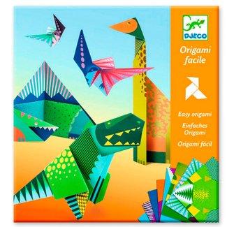 Djeco Eenvoudig Origami Knutselpakket | Dinosaurussen