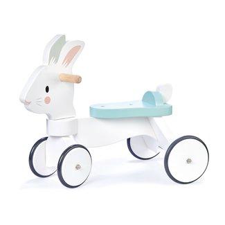 Tender Leaf Toys Houten Loopfiets | Ride-on Konijn