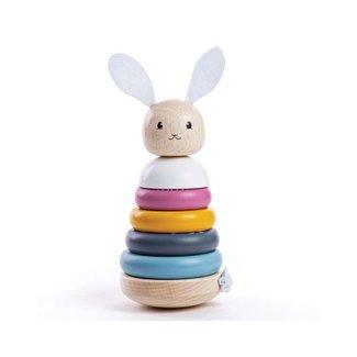Bigjigs Toys Houten Stapeltoren Konijn | Rabbit Stacker