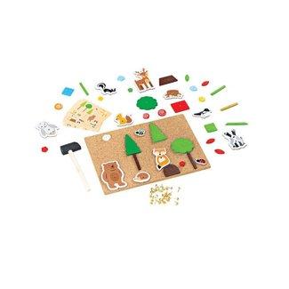 Bigjigs Toys Deluxe Hamertje Tik | Bos