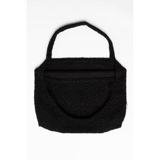 Studio Noos Black Bouclé Mom-Bag