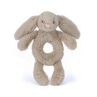 Jellycat Bashful Beige Bunny Grabber | Rammelaar