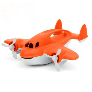Green Toys Brandweervliegtuig | Oranje
