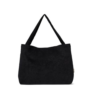 Studio Noos All Black Rib Mom-Bag