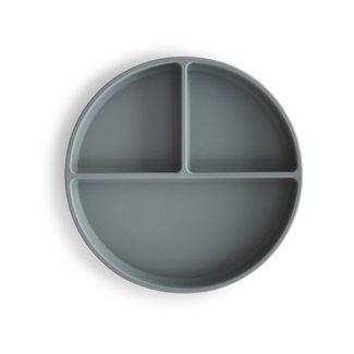 Mushie Siliconen Bord met Zuignap | Stone
