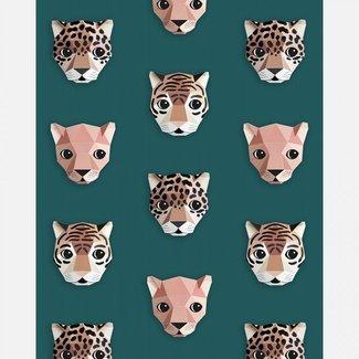 Studio Ditte Behang Panthera Groen